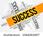 success word cloud collage ...   Shutterstock .eps vector #1066063607
