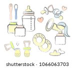 a set of elements on the theme... | Shutterstock .eps vector #1066063703