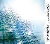 crisscrossed technology... | Shutterstock .eps vector #1066078937