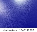 Small photo of Blue (admiral) leather texture background. Simple and beautiful.
