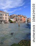 venice  italy   may 2nd 2017  ... | Shutterstock . vector #1066144103