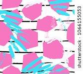 tropical  stripe  animal motif. ... | Shutterstock .eps vector #1066155053