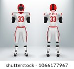 3d realistic of font of white...   Shutterstock .eps vector #1066177967