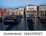 canal grande  grand  venice ... | Shutterstock . vector #1066193417