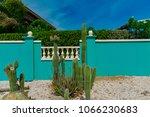 oranjestad  aruba   january 15... | Shutterstock . vector #1066230683