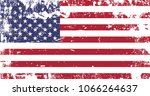 the united states   usa flag  ... | Shutterstock .eps vector #1066264637