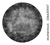 black blank watercolor round... | Shutterstock . vector #106630547