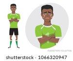 the black african american...   Shutterstock .eps vector #1066320947
