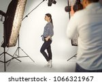 professional photo shooting at... | Shutterstock . vector #1066321967