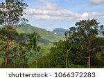 beautiful landscape of the mahe ... | Shutterstock . vector #1066372283