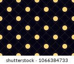 art deco seamless pattern with... | Shutterstock .eps vector #1066384733