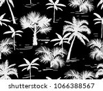 beautiful botanical vector... | Shutterstock .eps vector #1066388567