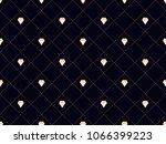 art deco seamless pattern with... | Shutterstock .eps vector #1066399223