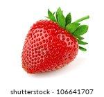 Fresh Sweet Strawberry Isolate...