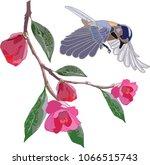 hand drawn  vector llustration... | Shutterstock .eps vector #1066515743