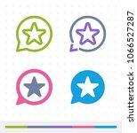 star notification   zap   tap... | Shutterstock .eps vector #1066527287