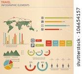 infographic travel elements....   Shutterstock .eps vector #106654157