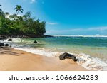 the beautiful coast at the... | Shutterstock . vector #1066624283