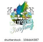 surf beach   Shutterstock .eps vector #106664387