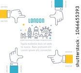Line Illustration Of London....