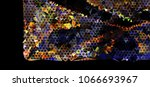 abstract background. spotted... | Shutterstock . vector #1066693967