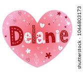 delanie   breathtaking female... | Shutterstock .eps vector #1066803173