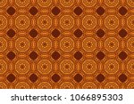 tribal motifs. seamless pattern ... | Shutterstock . vector #1066895303