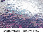 live double sided sequins.... | Shutterstock . vector #1066911257