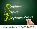 sle   systemic lupus... | Shutterstock . vector #1066916597