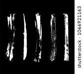 set of grunge brush. ink brush... | Shutterstock .eps vector #1066921163