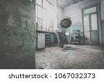 old abandoned italian... | Shutterstock . vector #1067032373