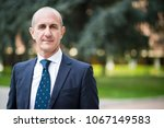 portrait of manager with...   Shutterstock . vector #1067149583
