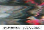 unique design abstract digital... | Shutterstock . vector #1067228003