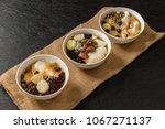 tofu pudding douhua  taiwan... | Shutterstock . vector #1067271137