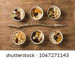 tofu pudding douhua  taiwan... | Shutterstock . vector #1067271143