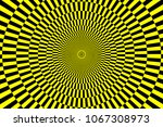 Black And Yellow Spirals Of Th...
