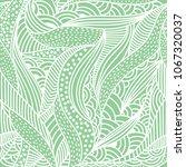 hand drawn illustration  exotic ... | Shutterstock .eps vector #1067320037