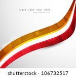 abstract background colorful... | Shutterstock .eps vector #106732517