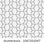 vector seamless pattern.... | Shutterstock .eps vector #1067331047