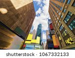 intersection of 7th avenue and... | Shutterstock . vector #1067332133