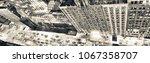 rooftop view of midtown... | Shutterstock . vector #1067358707