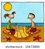holiday comics series number 3 | Shutterstock . vector #10673800