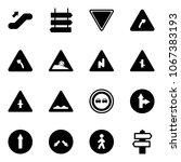 solid vector icon set  ... | Shutterstock .eps vector #1067383193