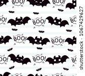 abstract seamless halloween... | Shutterstock .eps vector #1067429627