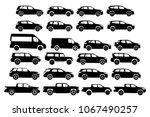 car type and model objects...   Shutterstock .eps vector #1067490257
