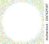 sprinkles grainy. sweet... | Shutterstock .eps vector #1067629187