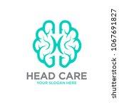 head mind care logo   Shutterstock .eps vector #1067691827