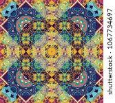 grid digital paper  textile... | Shutterstock .eps vector #1067734697