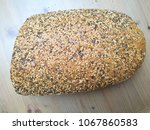 close up photo of artisan bread ... | Shutterstock . vector #1067860583