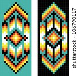 vertical traditional native...   Shutterstock .eps vector #106790117